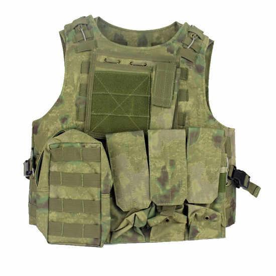 العسكرية التكتيكية سترة الاعتداء الادسنس SAPI لوحة الناقل متعددة حدبة الجيش رخوة ماج الذخيرة الصدر تزوير الألوان درع للجسم تسخير