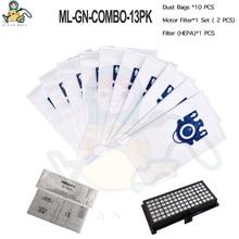 Детали для фильтра HEPA, аксессуары для пылезащитных пылесборников типа GN для Miele Classic C1 Dynamic U1 600 2000 S7 S300 S311i S500 S700