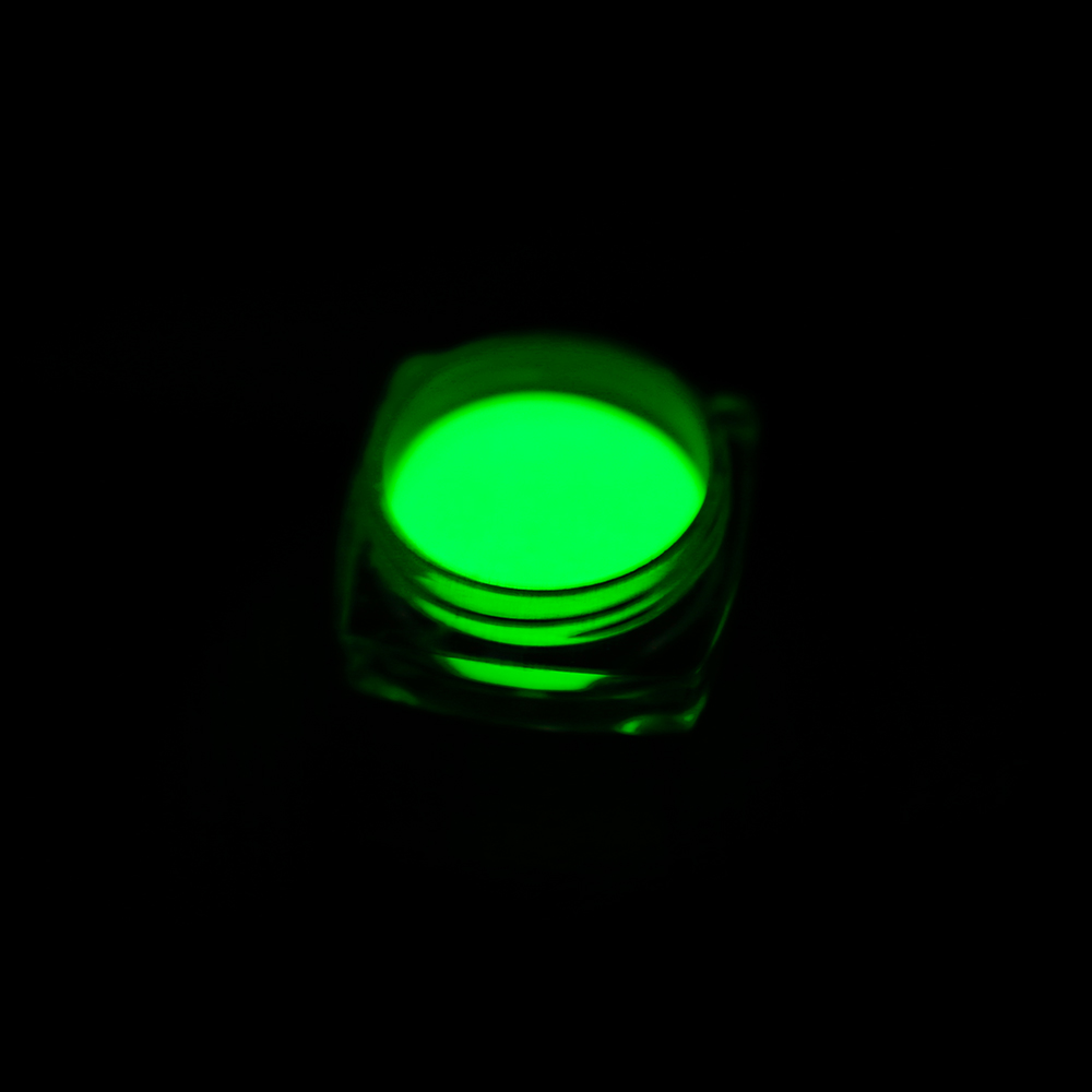 1 Box Neon Phosphor Powder Nail Glitter Powder 10 Colors Dust Luminous Pigment Fluorescent Powder Nail Glitters Glow in the Dark 16