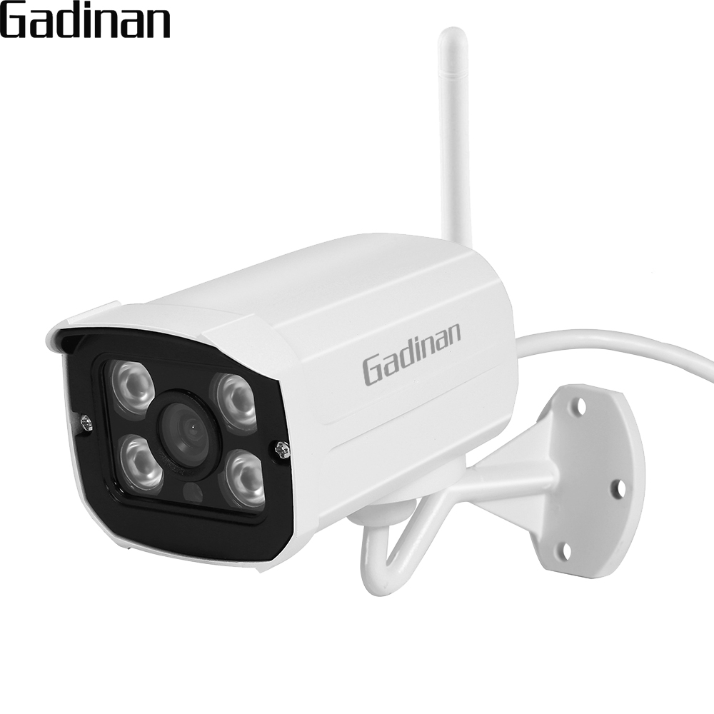 GADINAN Yoosee IP Camera Wifi ONVIF P2P 1080P 960P 720P Wireless Wired Night Vision 2.8mm Outdoor Security SD Card Slot Max 128G ahwvse yoosee full hd 1080p wifi ip camera onvif p2p email alert wireless wired cctv outdoor camera sd card slot max 64g
