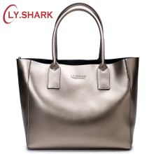 LY.SHARK female bag ladies genuine leather women bag shoulder messenger bag women handbag big famous brand designer fashion tote new women casual tote genuine leather handbag fashion ladies large capacity shopping bag brand designer female big shoulder bag