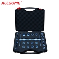 ALLSOME Bicycle Bottom Bracket Hub Bike BB Axis Bearing Removal Press Installation Tool Kit Set Hand Tool Set HT1637