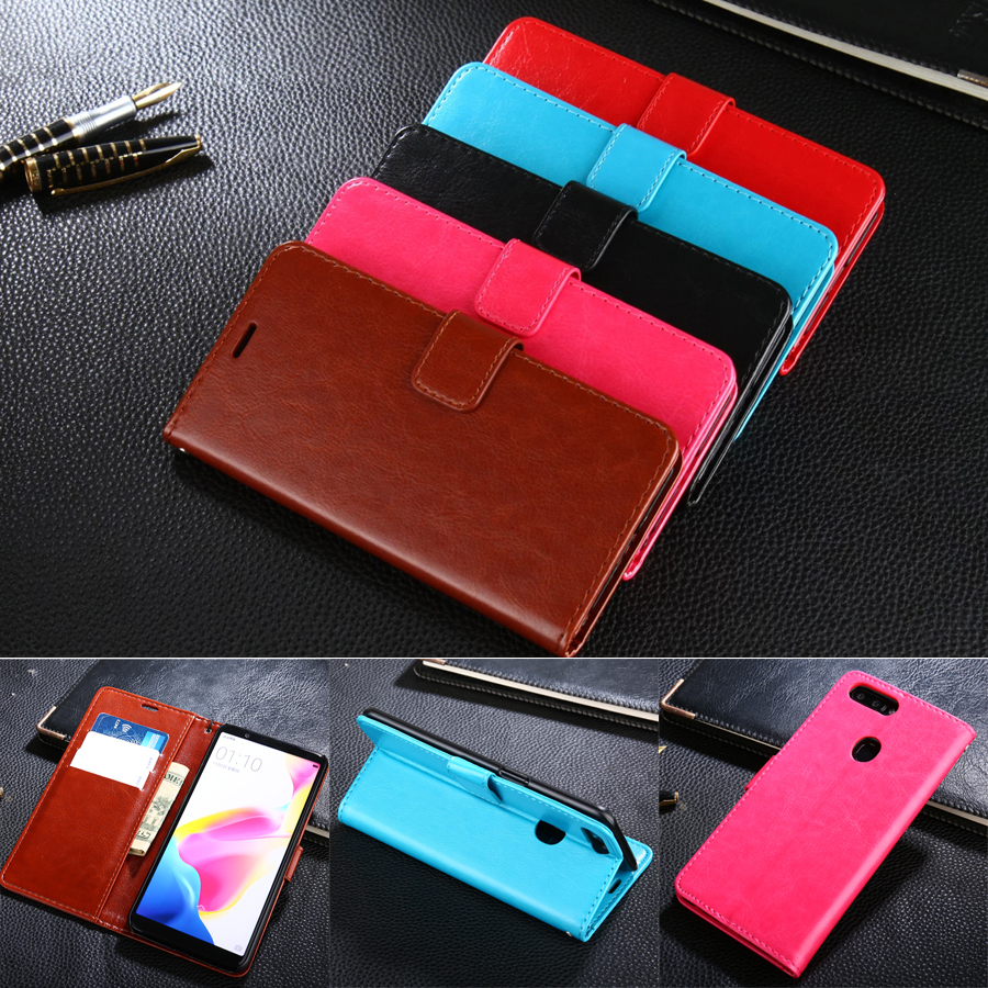 AZNS Case For OPPO R11S Plus 6.43 Luxury Wallet Leather Case Stand Flip Card Hold Phone Cover Bags
