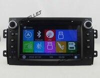 Win8 Menu Car DVD GPS Navigation For 2007 2013 Suzuki Sx4 Fiat Sedici Baleno With Bluetooth