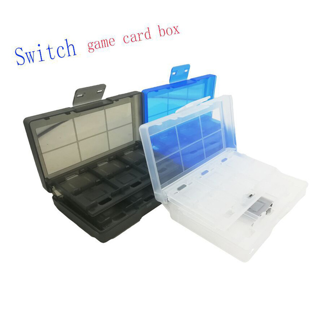 TF Card Storage Box Case Switch 24 In 1 Game Holder Durable Dustproof Protection TB Sale