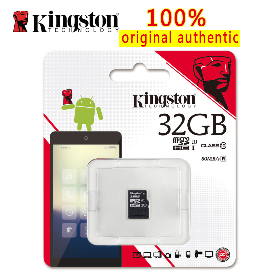 kingston class 10 micro sd card 32gb memory card mini sd. Black Bedroom Furniture Sets. Home Design Ideas