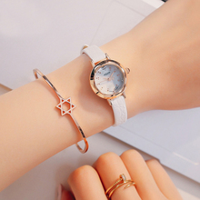 Hot Women Leather Strap Wristwatch Women's Rhinestone Watches Fashion Casual Japan Quartz Watch Luxury Famous Julius 482 Clock