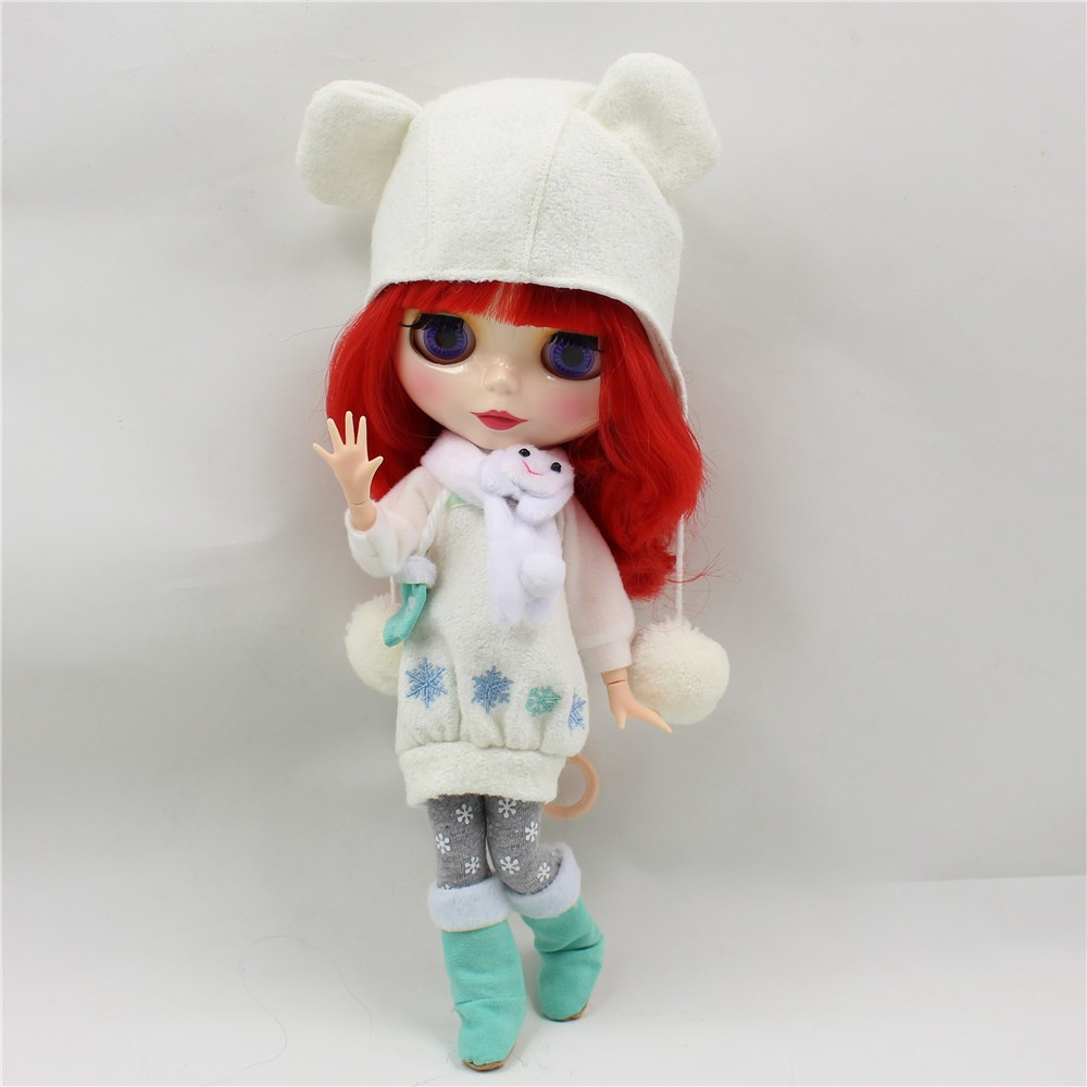 Neo Blythe Doll Winter Outfit Set 1