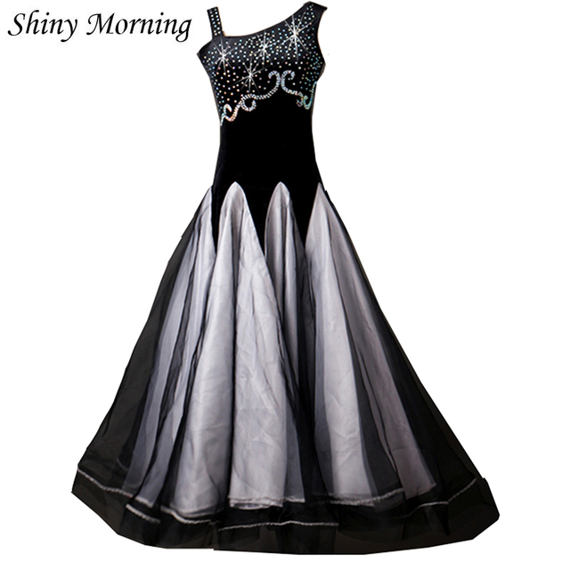 Modern Tango Dress Sleeveless Quick Step Dress Sleeveless Viennese ...