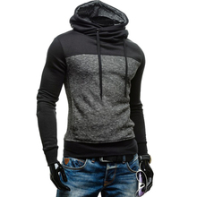 Casual Simple Style Bodybuilding Hooded Coat Full Sleeve Sportswear Male Fashion Clothing