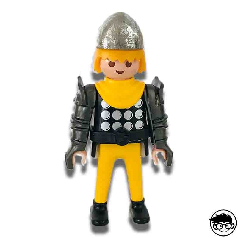 Playmobil Vintage Knight Figure With Arm Protection 1993 Loose