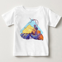 2018 New children clothes boys and girls Tops Tees smiley emoji t shirt summer moana kids cartoon tamatoa printing T-shirt MJ