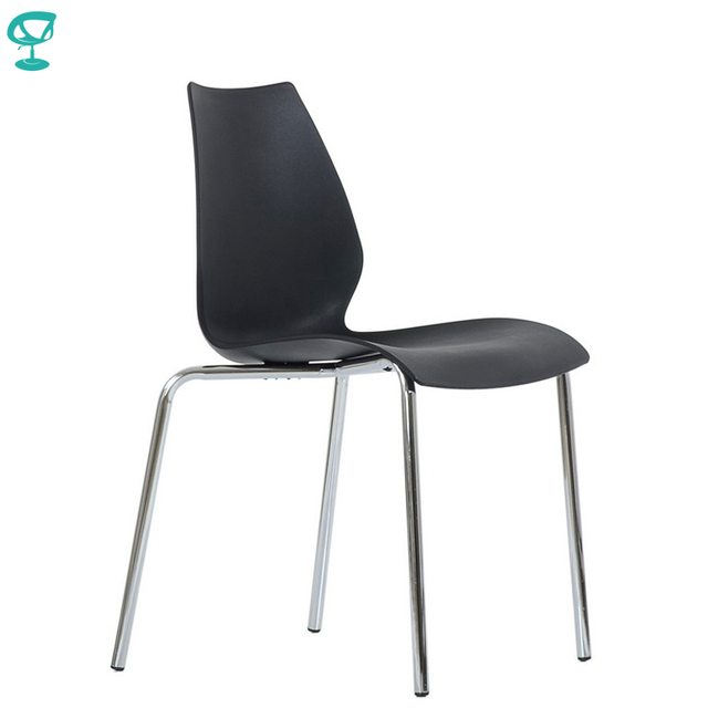 95462 Barneo N-234 Plastic Kitchen Interior Stool Chair for a Street Cafe Chair Kitchen Furniture Black free shipping in Russia