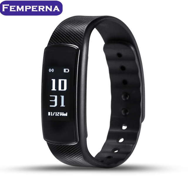 Original iwown I6 HR Smart Wristband Heart Rate Monitor IP67 Waterproof Smart Bracelet Fitness Tracker for Android IOS
