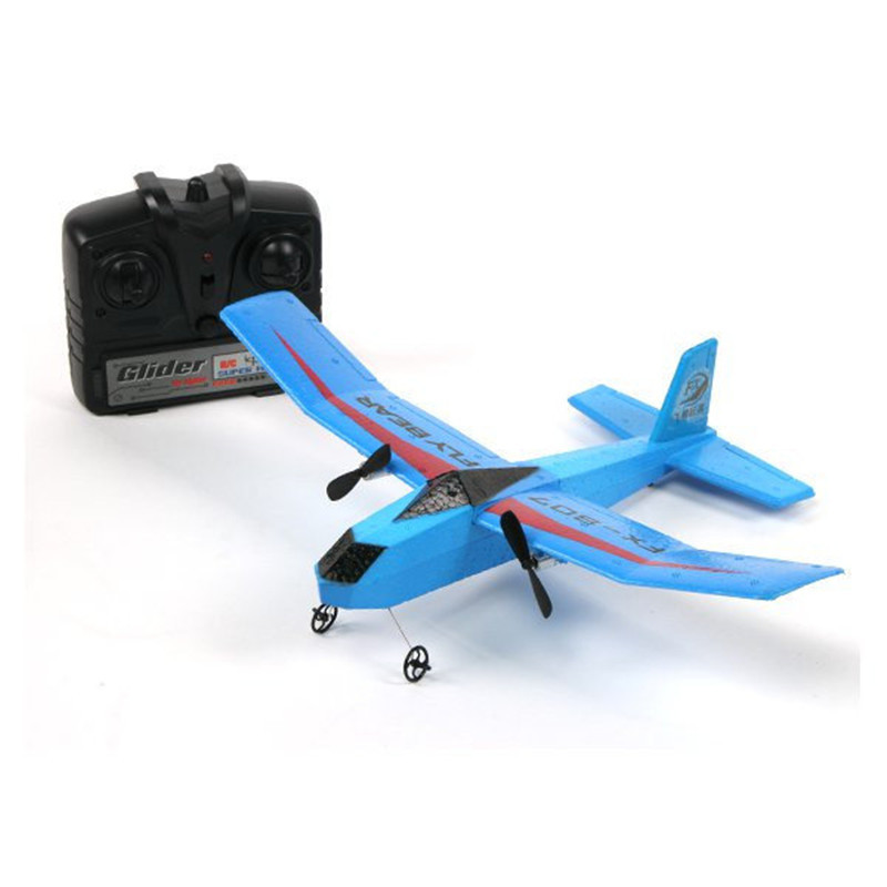 Fly Bear FX-802 FX-805 FX-807 2.4G 2CH 310mm EPP RC Professional Glider Airplane RTF Double Propeller Ready-to-fly image