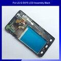 100% novo para LG Optimus G E975 E973 LCD e tela de toque digitador assembléia com quadro preto