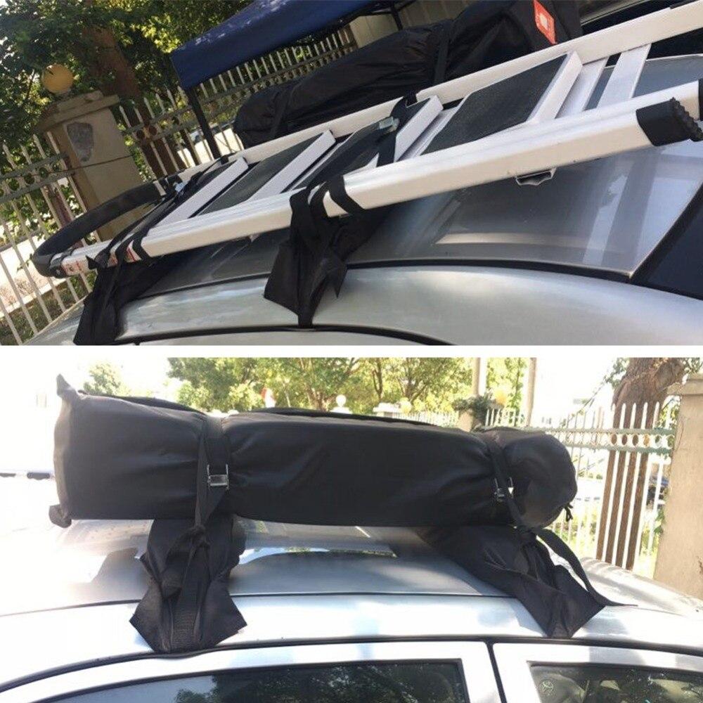TIROL/® Universal Auto Soft Car Roof Rack Carrier Luggage Easy Rack 2 Piece