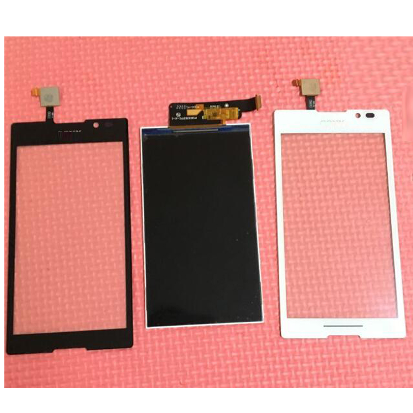 100 Guarantee Working LCD Display Touch Screen Digitizer For Sony Xperia C S39H S39 C2304 C2305