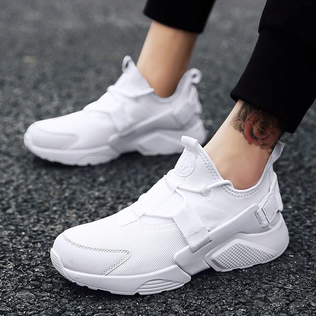 e1f548a2d2c11 Chaussures De course pour Homme 2018 Braned chaussures De sport Hommes  Sneakers Zapatos Corrientes Verano Rouge