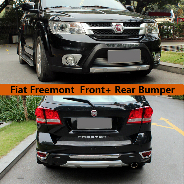Fit For Fiat Freemont 2012 2018 Front Rear Bumper Diffuser Bumpers