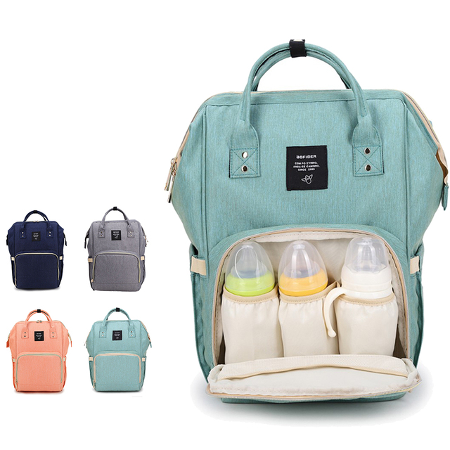 Aofider Brand Diaper Bag Waterproof Travel Backpack Fashion Mummy Ny Nursing Bags Baby Care Multi