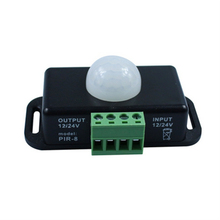 1PCS/LOT DC 12V/24V Body Infrared PIR Motion Sensor Switch For LED Light Strip Automatic