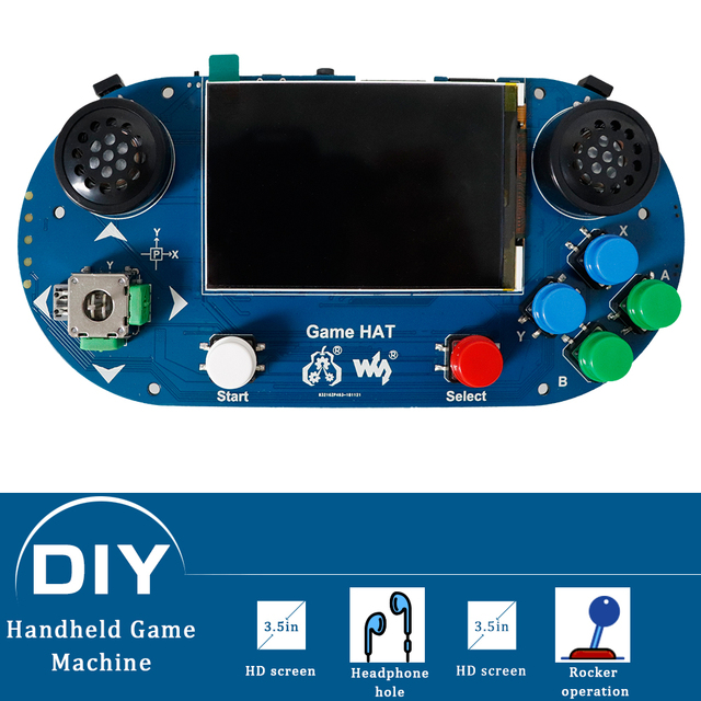 Venda 3 5 polegada IPS tela Raspberry Pi game console player