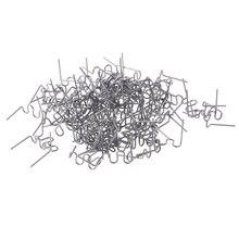 100 шт./компл. нарезанные 0,8 мм волна плоские скобы для горячего степлера для Пластик степлер ремонт сварщик
