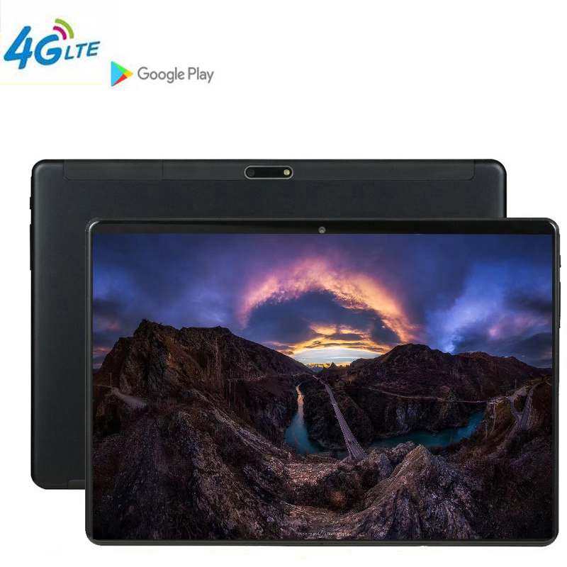 CARBAYTA CP9 10 inch Tablet PC 10 Core 128GB ROM Dual SIM 8.0 MP GPS Android 9.0 google IPS the tablet 4G LTE Multi touch Screen