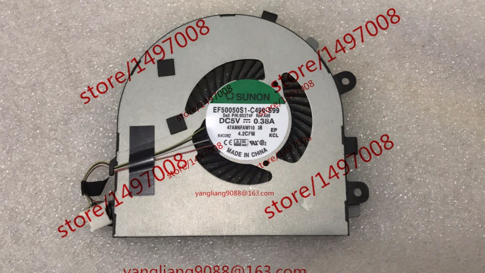 Free Shipping For SUNON EF50050S1-C490-S99 DC 5V 0.40A 4-wire 4-pin connector 40mm Server Cooling Blower fan