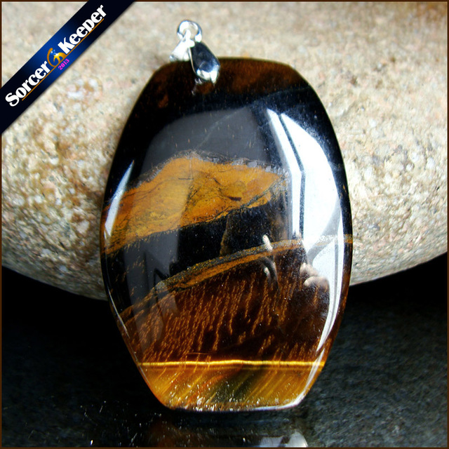 real natural blue tiger eye beads gem stone water drop necklaces