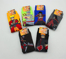 Hallowmas Anime Naruto socks Cotton Uzumaki Male Women's Lady Girl Socks