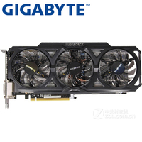 GIGABYTE Video Card Original GTX 760 2GB 256Bit GDDR5 Graphics Cards For NVIDIA VGA Cards Geforce