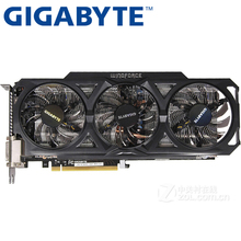 GIGABYTE Video Card Original GTX 760 2GB 256Bit GDDR5 Graphics Cards for nVIDIA VGA Cards Geforce GTX760 Hdmi Dvi game Used