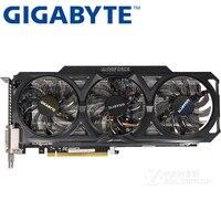 GIGABYTE Video Card Original GTX 760 2GB 256Bit GDDR5 Graphics Cards For NVIDIA VGA Cards Geforce