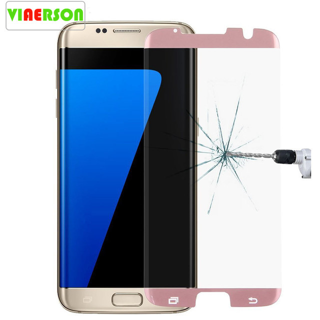 sports shoes 84557 32c56 US $2.79 25% OFF 3D Curved Case Friendly Design,96% Half Coverage Tempered  glass For Samsung Galaxy S7 Edge S9 S9 plus Screen Protector-in Phone ...