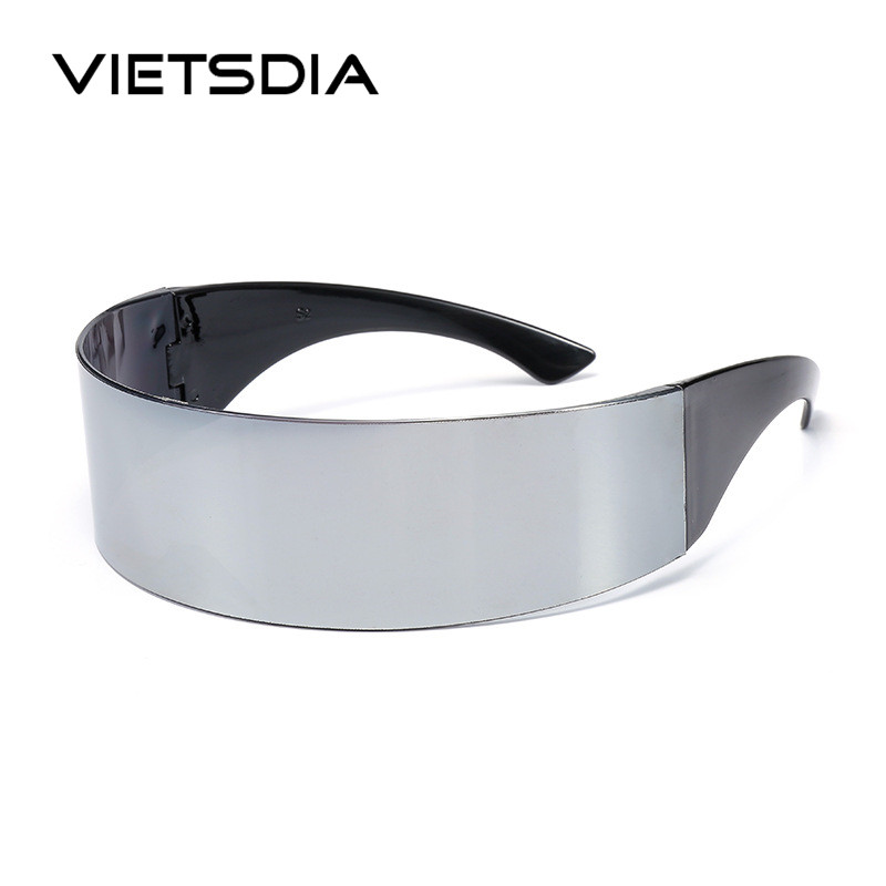 Men Around Monob Costume Alien <font><b>Sunglasses</b></font> Women Hairband Cool Wrap Mask Novelty Glasses Halloween Party Supplies Decoration image