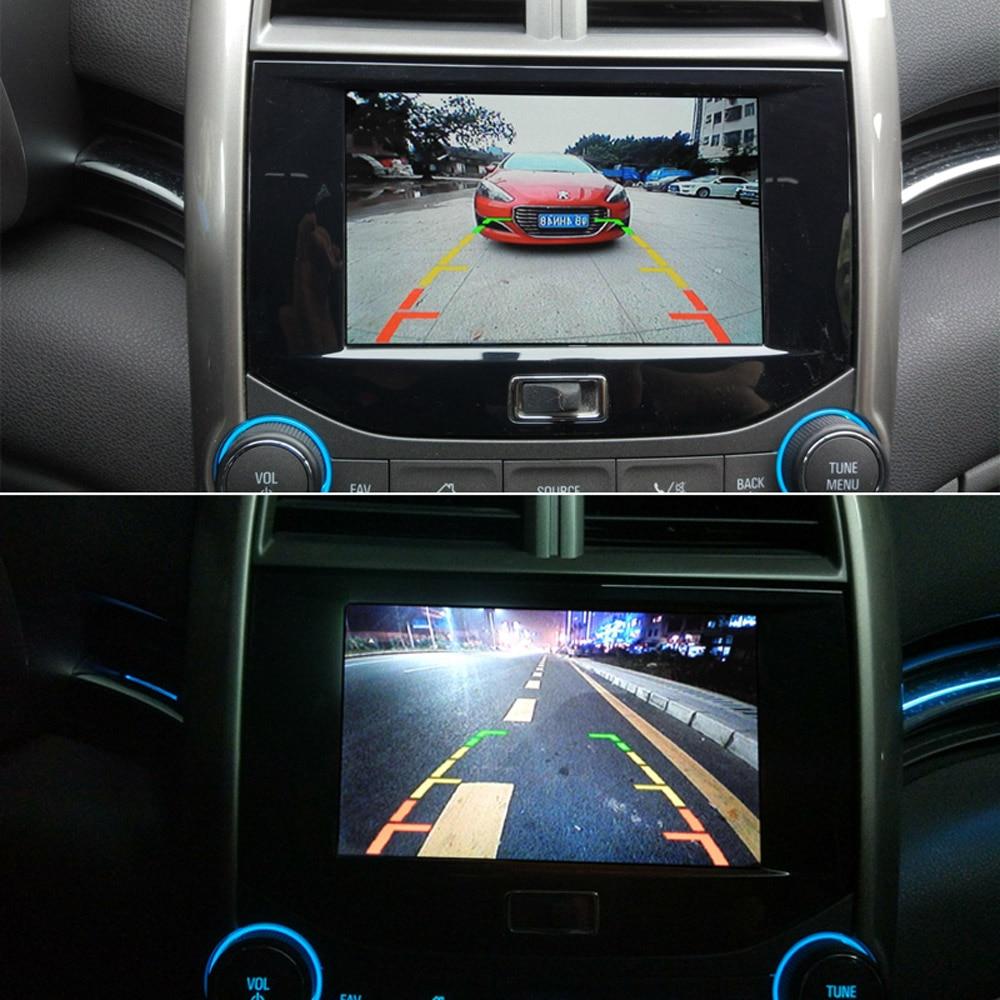 XCGaoon 18.5mm CCD Cámara de visión trasera para automóvil con 8 - Electrónica del Automóvil - foto 5