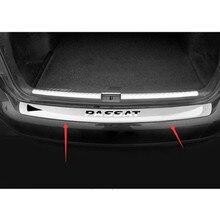 Высококачественная нержавеющая сталь заднего бампера протектор Подоконник для 2011 2012 2013 Volkswagen Passat B7(98 см