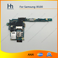 Trabalhar para samsung galaxy s2 i9100 desbloqueado originais motherboard placa lógica com chips