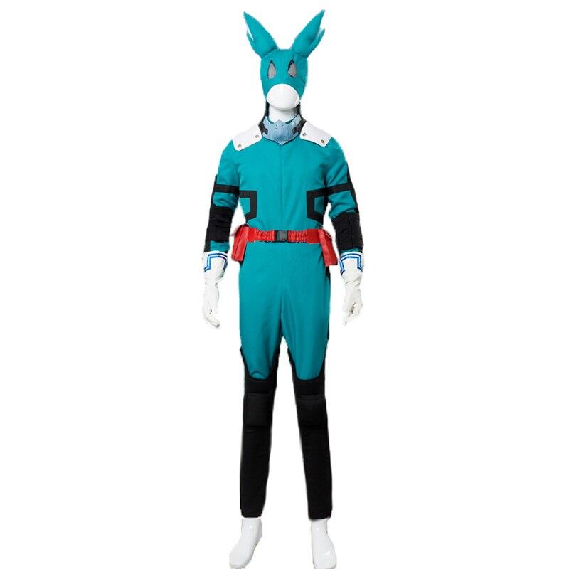 Mon héros académique Boku pas de héros Akademia Izuku Midoriya Costume Cosplay version 2 deku costume