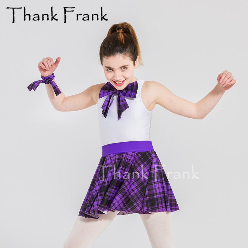 New 4 Piece Jazz Dance Dress Women Girls Hip Hop Dance Costumes Kids Adult Street Dance Clothes Including Leotard Skit Vest C558