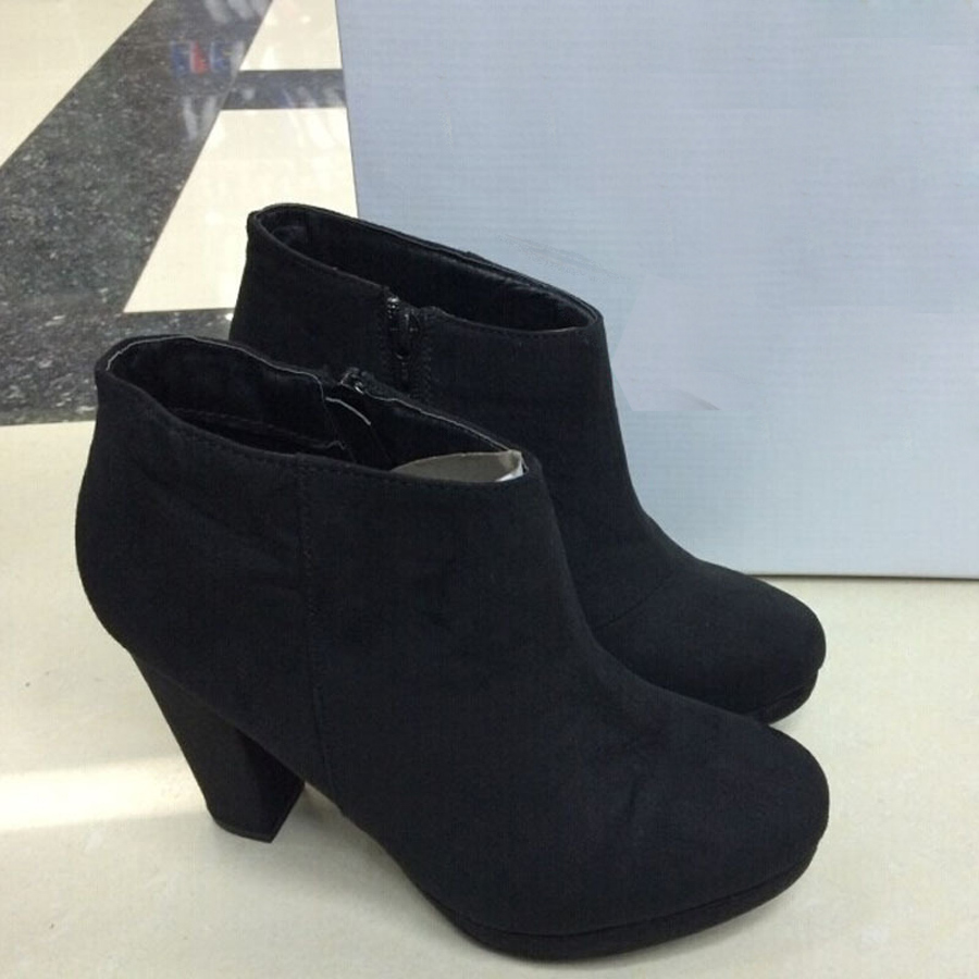 ed3b72b905f9 2016 brand fashion women autumn ankle boots high heels women s shoes womens  boot-in Ankle Boots from Shoes on Aliexpress.com