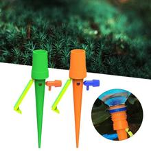 Auto Drip Irrigation Watering System Universal Watering Spike for Plants Flower Indoor Household Waterers Bottle Drip Irrigation все цены