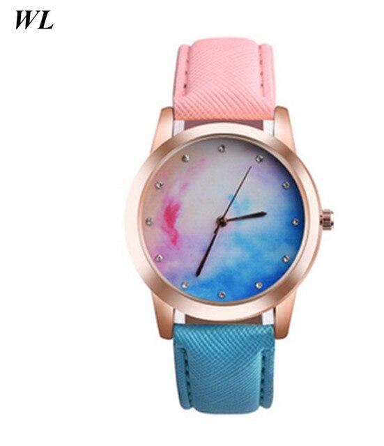 10pcs Lot Wholesales Newest Hot Sale Pink Blue Gradient Color Cut