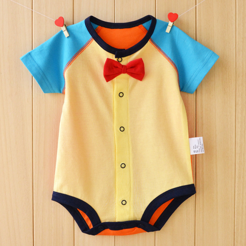 Small Size Baby Rompers Summer Baby Girls Clothing Sets 2017 Baby Boy Clothes Newborn Baby Clothes Roupas Bebe Infant Jumpsuits baby boys girls rompers short sleeve infant jumpsuits summer kids clothing sets cartoon newborn baby clothes for 0 12 month