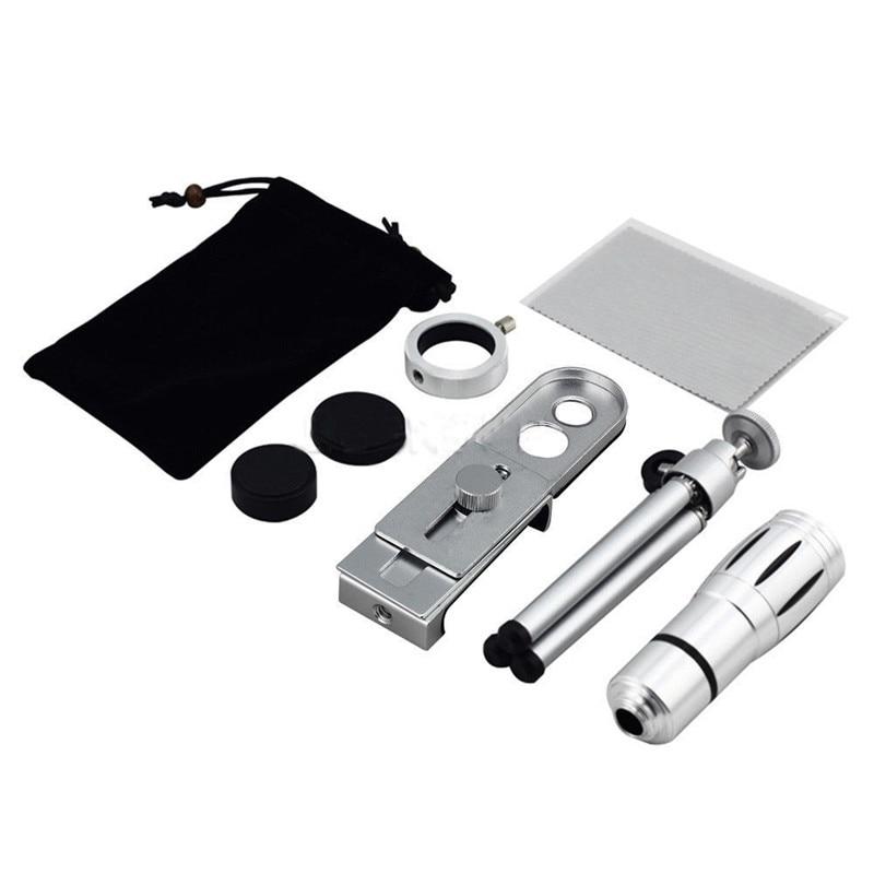 Universal 2016 12X Zoom Optik Lensa Kamera Ponsel Teleskop kit dengan - Aksesori dan suku cadang ponsel - Foto 6