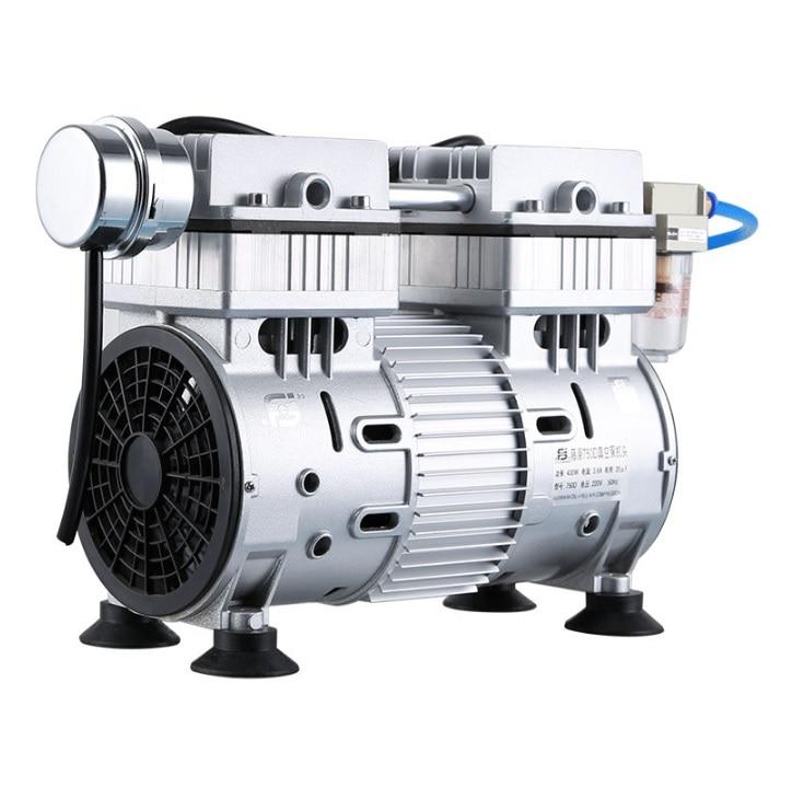 220V Oil Free Vacuum Pump, -0.089MPA, 320Watt, Mode Number 550D, Laboratory Pump 10kg