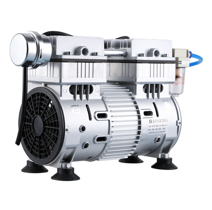 220V Oil Free Vacuum Pump, -0.089MPA, 320Watt, Mode Number 550D, Laboratory Pump 10kg