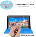 "0.3mm 9 h 2.5d prueba de explosiones de cristal templado de cine para microsoft surface pro 3 12.2 ""tablet anti-shatter screen protector films"